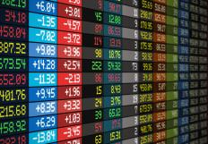 Stock markets are identified by a market identifier code.