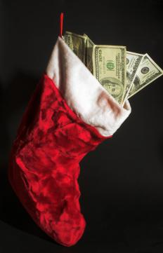 Holiday savings accounts typically make saved money available for spending around October.