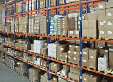 A supply clerk is responsible for keeping track of a company's inventory.