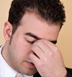 Stress from work, a divorce, or a death in the family can result in a mental breakdown.