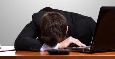 Affluenza can affect those who are overworked.