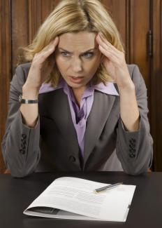 Stress can affect blood pressure.