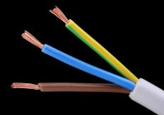The copper inside wires acts as a conductor: It is used to conduct, or move, electricity.