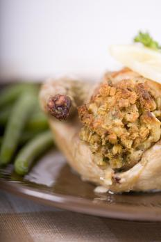 A turducken may include a Cornish game hen.