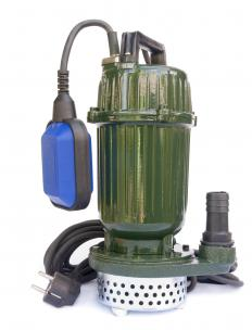 An open well submersible pump can also be installed to bring the water to the surface.