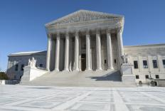 A majority opinion from the U.S. Supreme Court would include at least five of the nine justices.