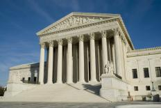 The Supreme Court hears cases in Washington, D.C.