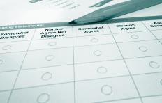 Employee attitude surveys can be used to be determine employee satisfaction.