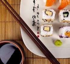 Uramaki is a type of rolled sushi.