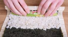 Makisu is a Japanese cooking mat commonly used to roll sushi.