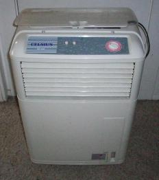 An evaporative cooler, which works by evaporation.