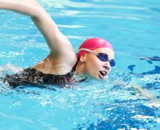 Freestyle strokes are one of the most common swimming strokes.