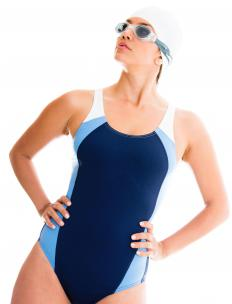 Many types of swimwear contain Lycra®.