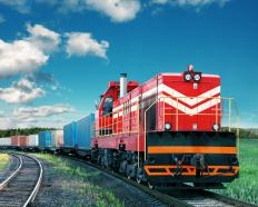 Some freight brokers specialize in railroad transport.