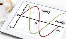 Many handheld calculators are equipped with tools for trigonometric functions.