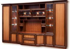 A TV hutch may be the focal point of a room's design.