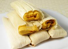 White maize can be used in tamales.