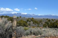 Taos, New Mexico, is a popular tourist destination.