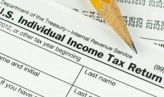 Tax preparation is the process of accurately filling out a tax return.