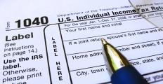 With a flat tax on income, no deductions would be allowed.