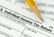 Tax forms provided by the Internal Revenue Service (IRS) help taxpayers calculate their adjusted gross income.