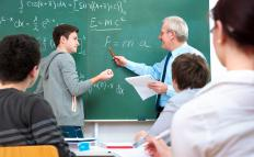 University-level math professors typically hold a Ph.D in mathematics.