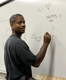 Formal and extensive education in mathematics is essential to beoming a math professor.