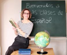 Spanish immersion is a form of instruction where students communicate only in Spanish and the teacher does not allow use of a native language.
