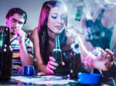 Youth adults suffering from reactive attachment disorder may turn to drugs and alcohol.
