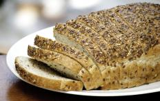 Bran can be added to homemade wheat bread to increase its fiber content.