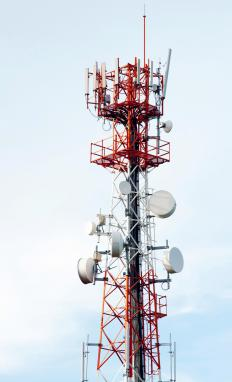 Cell phone companies frequently update their towers to keep up with the latest technology.