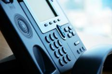 Corded speakerphones feature a speakerphone option.