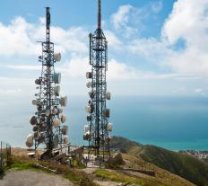 A digital TV signal can usually reach set antennas up to 70 miles away from broadcast towers.