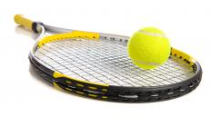 Catgut has been used to string tennis rackets.