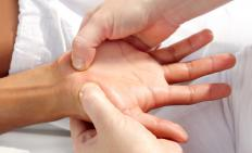 In Jin Shin Jyutsu, the pressure points on the hands are used to bring the body back into a balanced state.