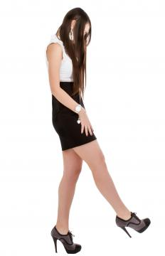 Stilettos are best for more daring occasions, such as going to a club.