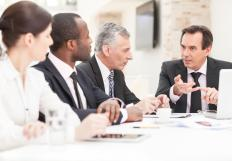 A project coordinator is responsible for coordinating meetings and conferences.