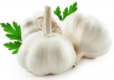 Garlic bulbs may contain as many as 60 cloves.