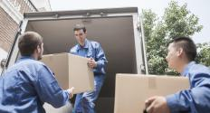 Hiring professionals to help with moving is one kind of expense.