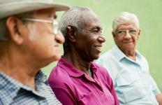 As men age, male hormones may decrease.