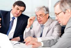 An audit can be conducted by an internal auditor or an external consultant.