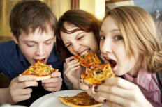 Pleasurable activities like eating a favorite food can produce dopamine.