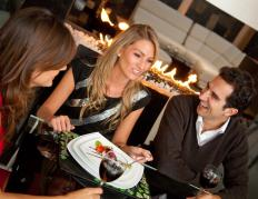 A restaurant pager system lets guests know when their table is ready.