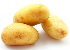 New potatoes, which are often served with ragout.