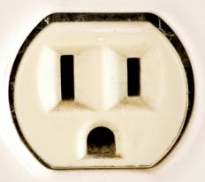 Outlets in the United States and Canada generally use a two-pin structure.