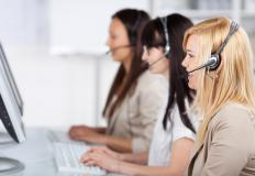 Traditional, physical call centers are based in brick-and-mortar buildings.