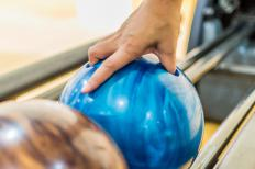 Friction can impact the motion of a bowling ball.