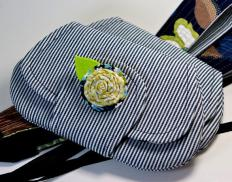 Clutch purses are often used to personalize an outfit.