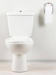 Low flow toilets reduce water waste.