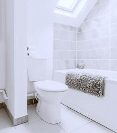 Privacy can make a bathroom a good reading place.